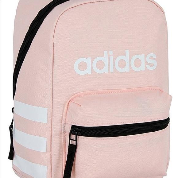 7950ac9b410 adidas Handbags - ADIDAS light pink LUNCHBOX SANTIAGO LUNCH BOX BAG